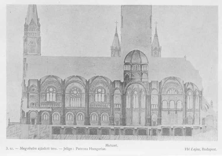 Forrás: Magyar Építőművészet 1906. (IV. évfolyam) 10. szám