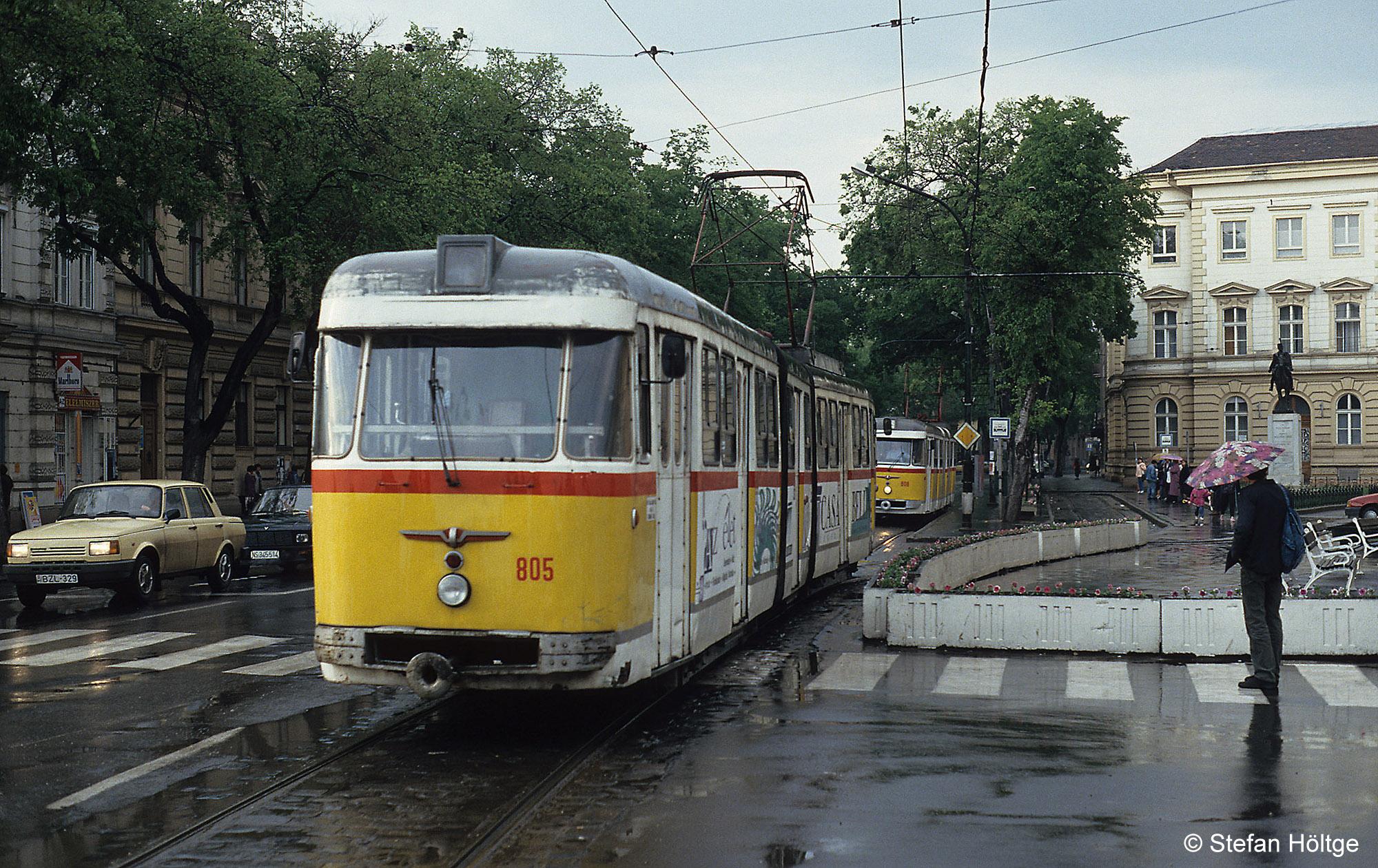 55 éve álltak forgalomba a történelem legrosszabb villamosai Szegeden